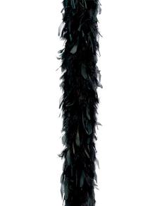 Boa pióra czarne