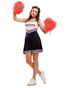 Kostium wesoła cheerleaderka damski