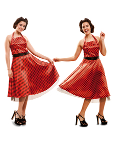 Kostium elegancka dziewczyna z lat 50. damski