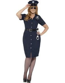 Kostium policjantka NYC damski