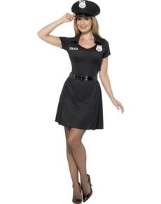 Kostium funkcjonariuszka policji damski